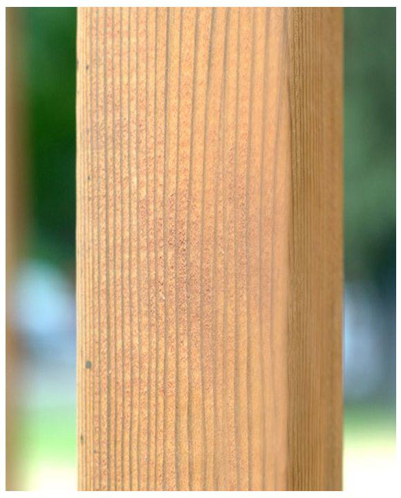 Kantówka, słupki drewniane