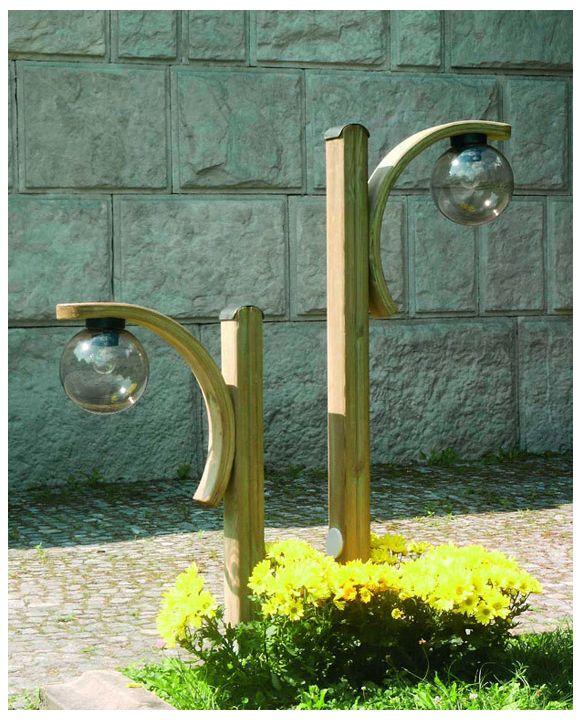 Lampy Ogrodowe Drewniane Lampy Stojące Nowoczesne Kinkiety