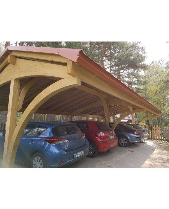 Garaż poczwórny Revelatio
